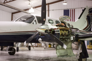 Cessna 421 maintenance